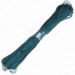 Шнур полипропиленовый 6мм 100 м черно/зеленый