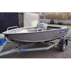 Алюминиевая лодка Wyatboat-390 C
