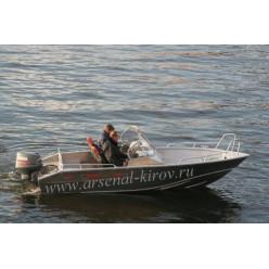 Катер алюминиевый TUNA Boats 500 DC