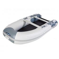 Лодка моторная Gladiator E 380 LT светло-серый/темно-серый