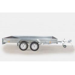 Автоприцеп ЛАВ 81013 3,5х1,5м. двухосный с высоким бортом 400мм