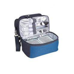 Обеденная сумка-холодильник Арктика 4000-1 (синяя)