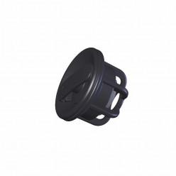 Клапан воздушный для лодки ПВХ черный/сер