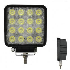 Фара светодиодная 48 Вт, свет желтый