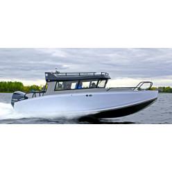 Лодка Волжанка VOYAGER 67 CABIN c мотором YAMAHA F175