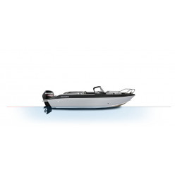 Лодка Волжанка FISH 51 с мотором MERCURY F80
