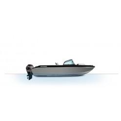 Лодка Волжанка FISH 53 с мотором MERCURY F100