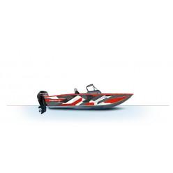 Лодка Волжанка 50 FishPro с мотором MERCURY F100