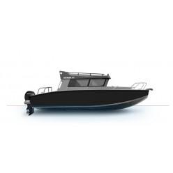 Лодка Волжанка VOYAGER 67 CABIN c мотором MERCURY F150