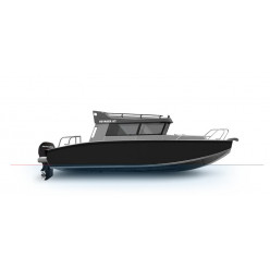 Лодка Волжанка VOYAGER 67 CABIN c мотором MERCURY F200