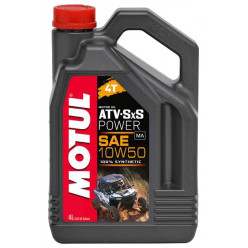 Масло MOTUL ATV-SXS Power 4T 10W50 4л