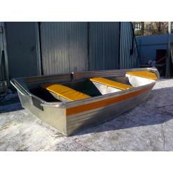 Алюминиевая моторно‑гребная лодка РУСБОТ‑36