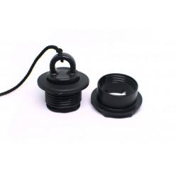 Сливной клапан черный