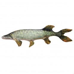 Подушка-игрушка рыба щука