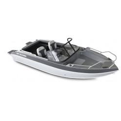 Лодка Волжанка 46 Фиш RU-KAT46044J919 транец 510мм. с доп.опциями