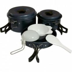 Набор посуды Tramp-034 (анодир.алюмин)