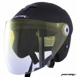 Шлем открытый МО110 черн.мат.(ХL) MICHIRU