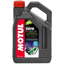 MOTUL SnowPower 2T для снегохода п/синтетика 4л