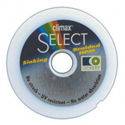Плетеный шнур  Climax Select Braided Sinking 0.18мм 100м
