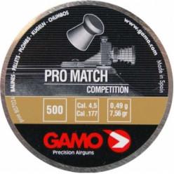 Пули пнев.GAMO Pro-Match 4.5мм  500шт