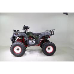 Квадроцикл WELS ATV Thunder 200 LUX зелёный/кмф