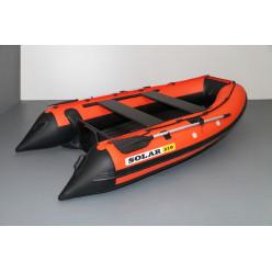Лодка надувная транцевая Солар Максима-310 оранжевый