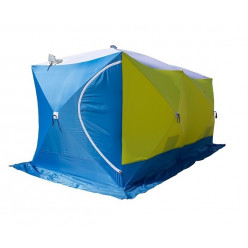 Палатка зимняя ДУБЛЬ 3Т трехслойная