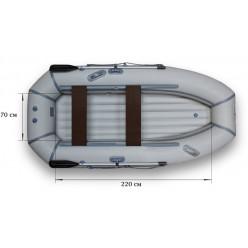 Надувная гребная лодка ФЛАГМАН-300НT