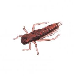 """Приманка """"Личинка стрекозы"""" 2,0""""/5,0 см., 0,85 гр., цвет PA44 (уп/6 шт.)краб"""