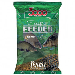 Прикорм Sensas 3000 Super FEEDER RIVER 1кг