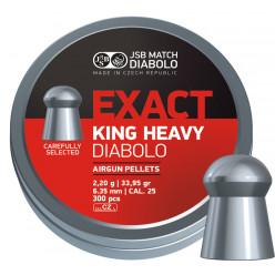 Пули пневм JSB Exact King H6.35мм 300шт