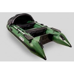 Лодка моторная Gladiator D330 AL цвет зеленый не комплект