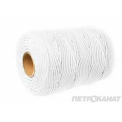 Шнур StartLine 4,0 мм, 1м, белый,