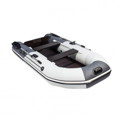Лодка Таймень NX 3200 НДНД графит/светло-серый