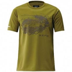Футболка Shimano Xefo T-Shirts SH-296N р.3XL оливковый