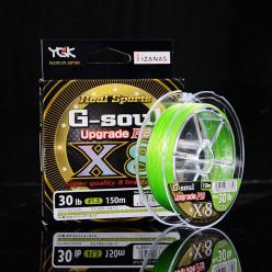 Шнур плетеный YGK G-Soul Upgrade x8 №1,5 205мм 150м