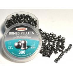 Пули пневматические Люман Domed Pellets 4.5мм 0.57гр 300 шт.
