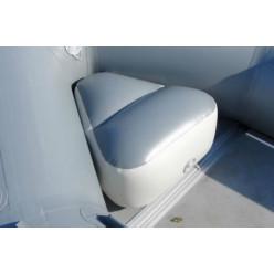 Надув сиденье в нос лодки №1 серое