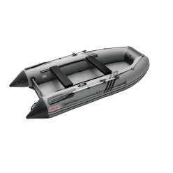 Моторная лодка Roger Zefir 4000 НДНД (цвет серый/черный) с доп.комплектацией