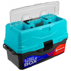 Ящик для снастей Tackle Box 3-пол NISUS бирюзовый