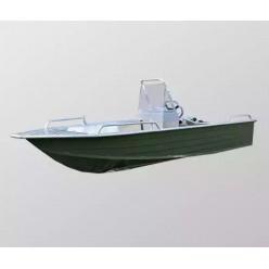 Алюминиевая лодка Wyatboat-390 У с консолью