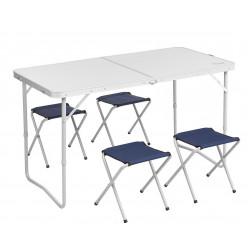 Набор мебели, стол + 4 табурета T-PR-FS-60x120 Premier Fishing