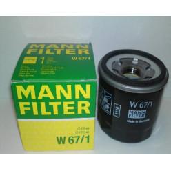 Фильтр масл.MANN 67/1 Mer.Toh.Niss.9.9-30