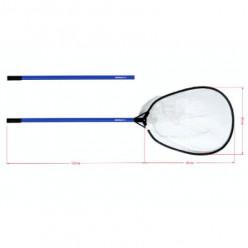 Подсак спиннинговый разборный Nautilus 80*60см ручка 120см