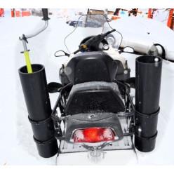 Крепление для ледобура на снегоход