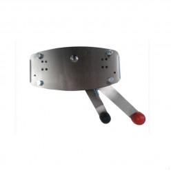 Машинка газ-реверс 2х рычажная нерж.сталь