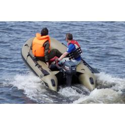 Лодка моторная ПВХ Badger Duck Line 430 AL