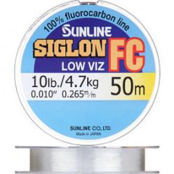 Леска флюрокарбоновая Sunline SIGLON FC 50м 0,29мм
