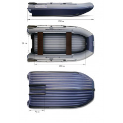 Надувная моторная лодка ФЛАГМАН DK 350 Jet