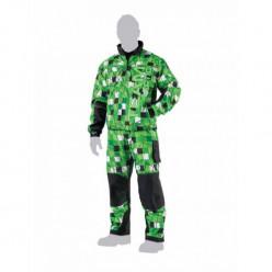 Куртка Фризон 5240-176 зеленая XL